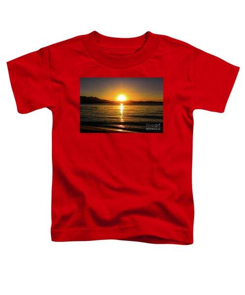 Sunset Lake 1 Toddler T-Shirt
