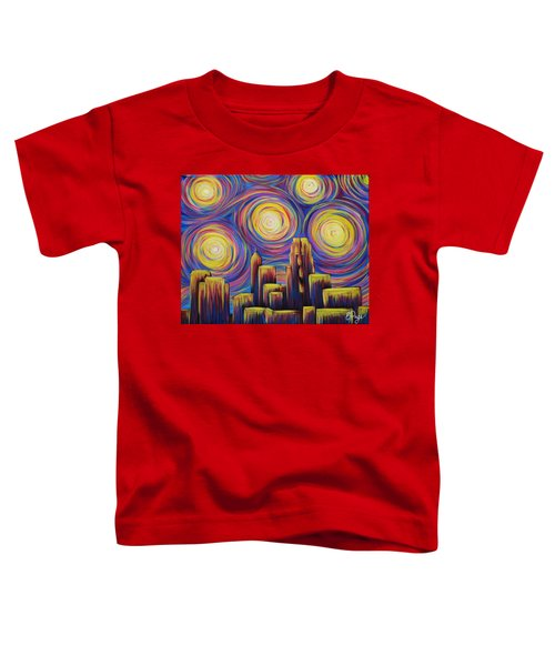 Sunset Over Raleigh Toddler T-Shirt