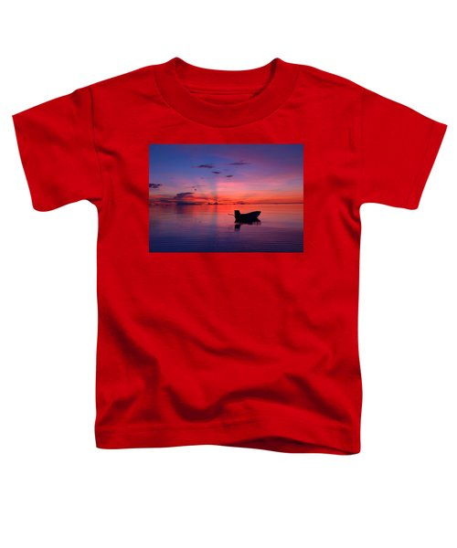 Sunset Rays Toddler T-Shirt