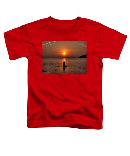 Sunset Zen Toddler T-Shirt
