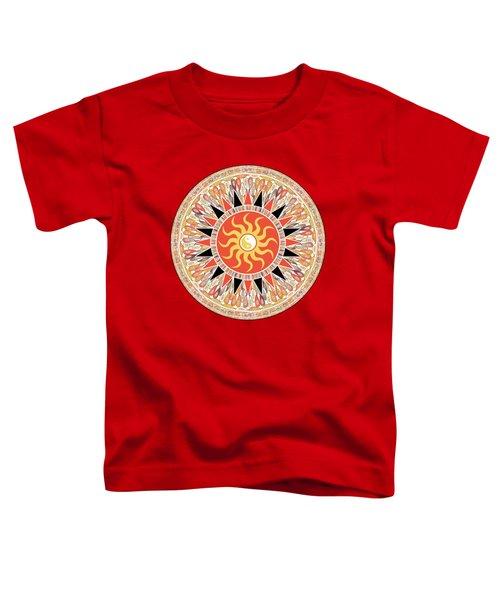 Sunshine Mandala Toddler T-Shirt