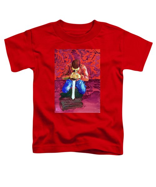 Swords On The Playground Toddler T-Shirt