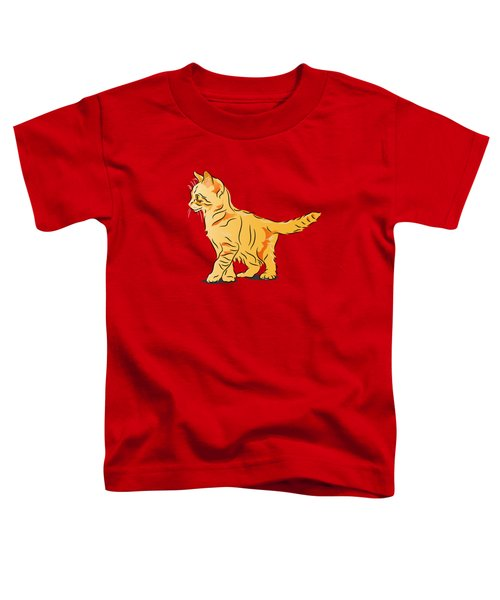 Tabby Kitten Toddler T-Shirt