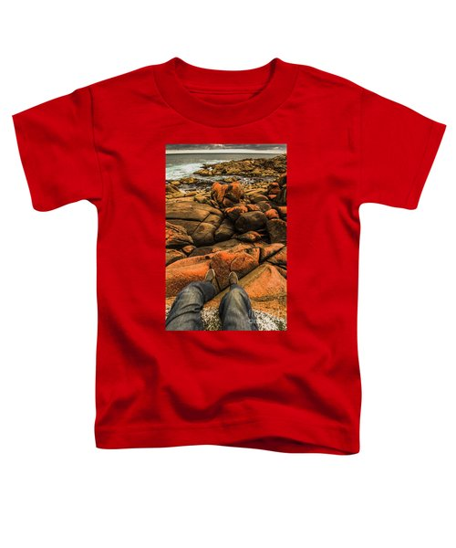 Tasmanian Tourist Kicking Back  Toddler T-Shirt
