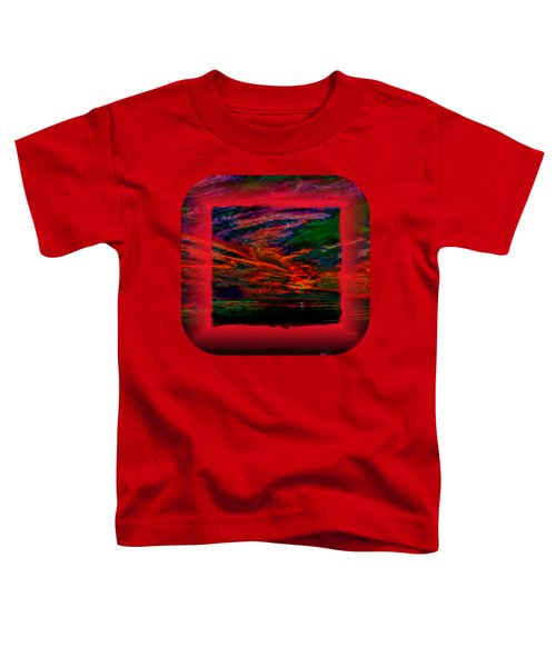Technicolor Sunset 2 Toddler T-Shirt