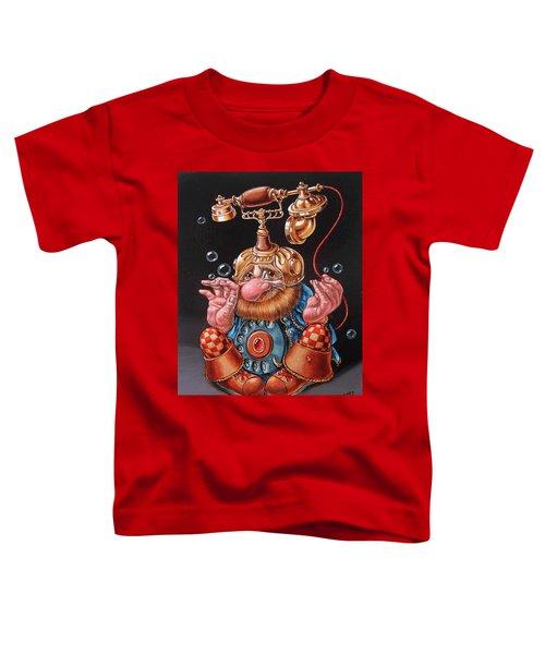 Telephonic Toddler T-Shirt