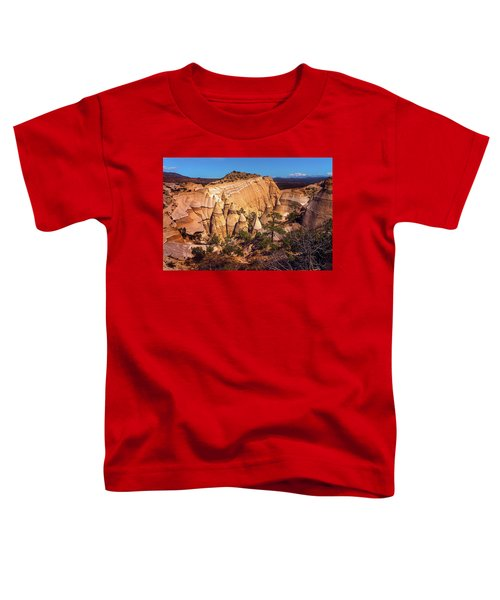 Tent Rocks From Above Toddler T-Shirt