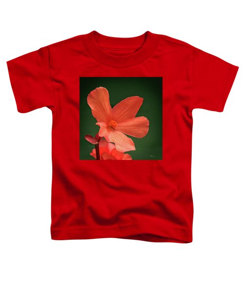 That Orange Flower Toddler T-Shirt