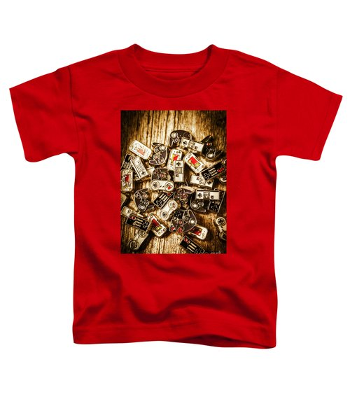 The Art Of Antique Games Toddler T-Shirt