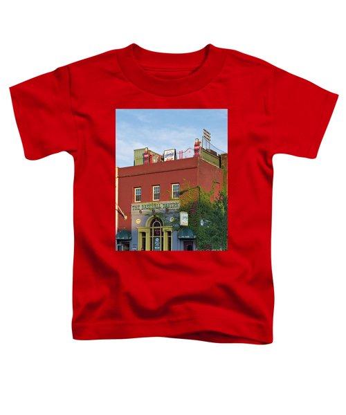 The Baseball Tavern Boston Massachusetts  -30948 Toddler T-Shirt