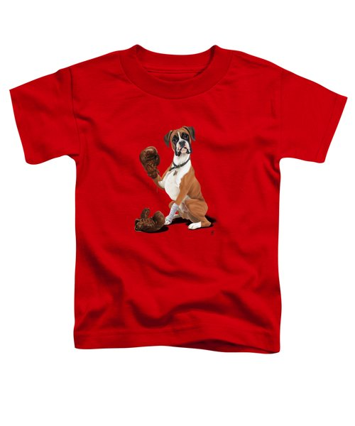 The Boxer Colour Toddler T-Shirt