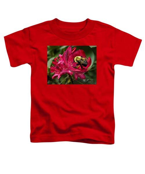 The Bumble Bee Toddler T-Shirt