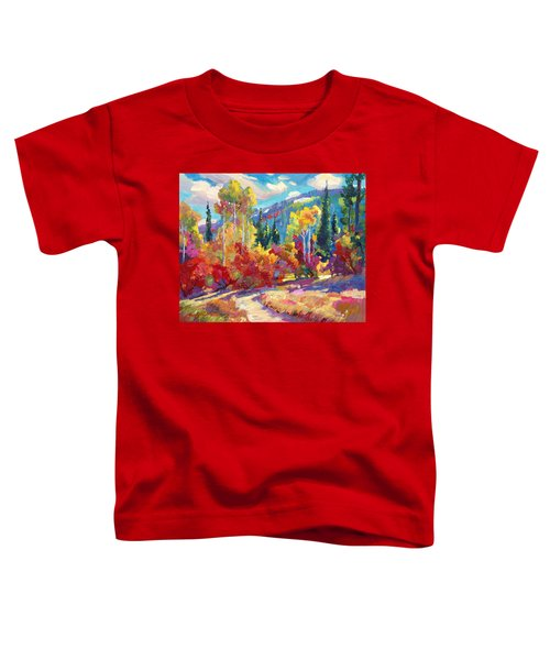 The Colors Of New Hampshire Toddler T-Shirt