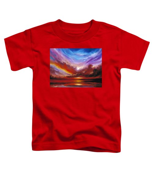 The Cosmic Storm II Toddler T-Shirt