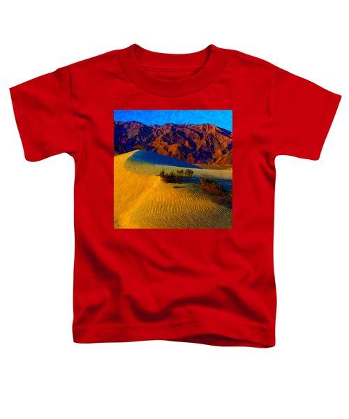 The Dunes At Dusk Toddler T-Shirt