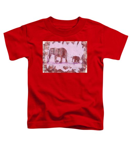 The Elephant March Toddler T-Shirt