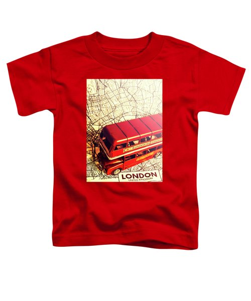 The Famous Red Bus Toddler T-Shirt