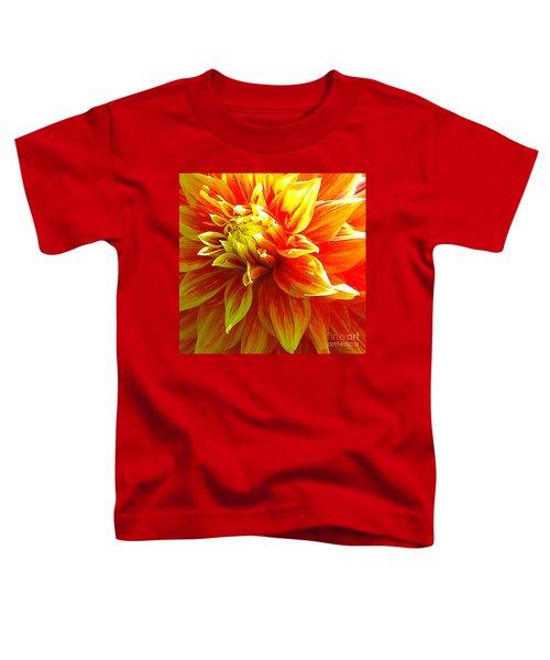 The Heart Of A Dahlia #2 Toddler T-Shirt