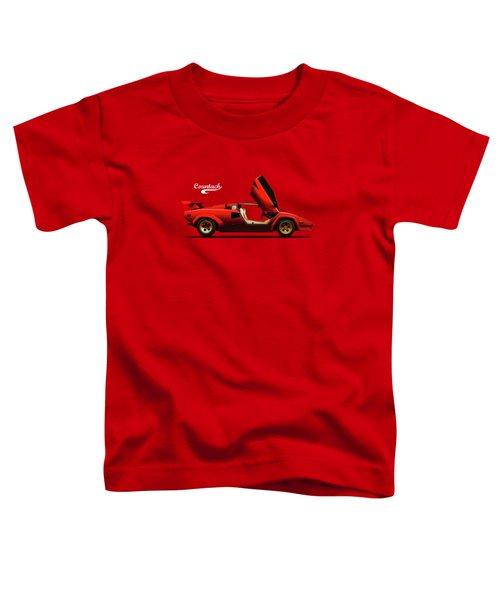 The Lamborghini Countach Toddler T-Shirt