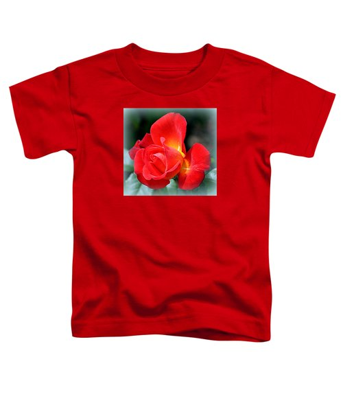 The Red Rose Toddler T-Shirt