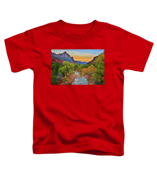 The Watchman And The Virgin River Toddler T-Shirt