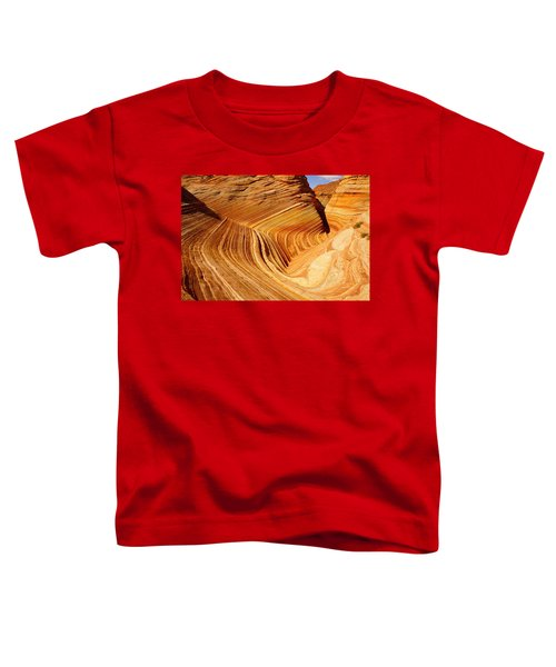 The Side Wave Toddler T-Shirt