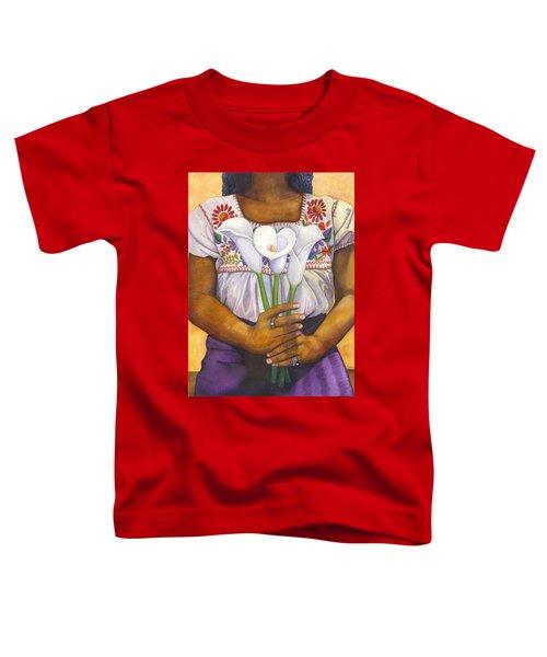 Three Calla Lilies Toddler T-Shirt
