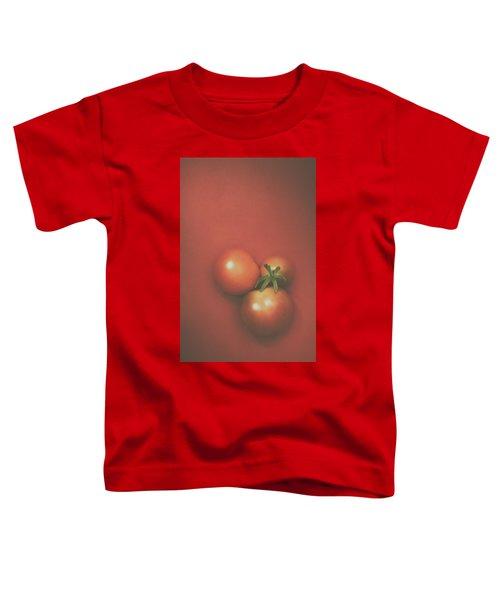 Three Cherry Tomatoes Toddler T-Shirt