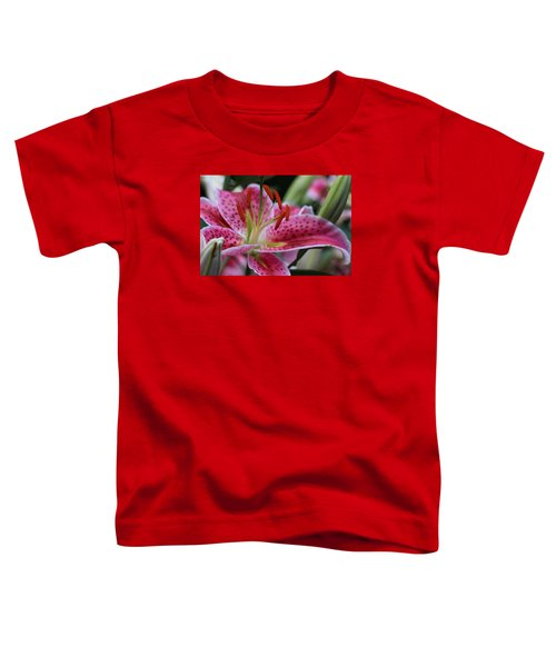 Tigar Lilly Toddler T-Shirt