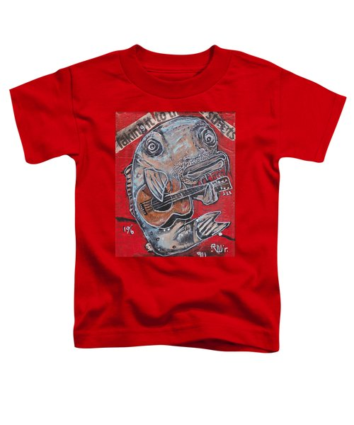 Blues Cat Toddler T-Shirt