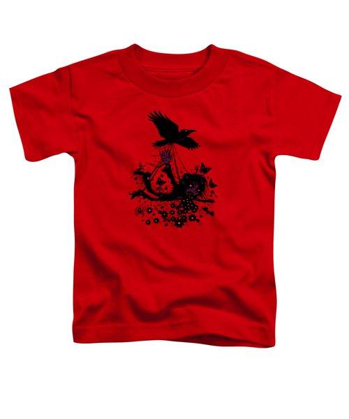 To The Sky Toddler T-Shirt by John Schwegel