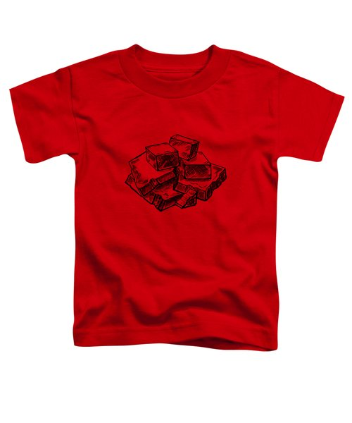 Toffee Fudge And Caramel  Toddler T-Shirt