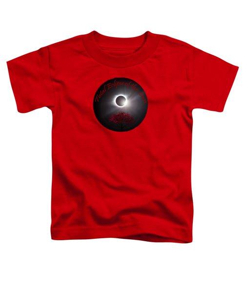 Total Eclipse T Shirt Art  Toddler T-Shirt