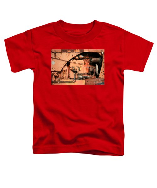 Toddler T-Shirt featuring the photograph Tractor Engine V by Stephen Mitchell