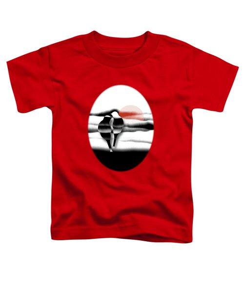 Tranquility Toddler T-Shirt by AugenWerk Susann Serfezi