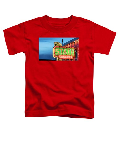 Traverse City State Theatre Toddler T-Shirt