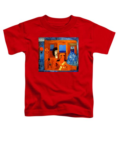 Trying To Find The Way Out Or Is It Better To Stay   Toddler T-Shirt