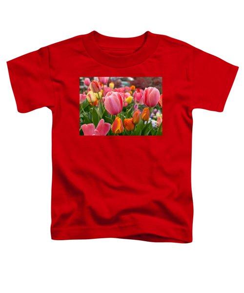 Tulip Bed Toddler T-Shirt