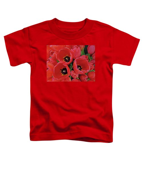 Tulip Parade Toddler T-Shirt