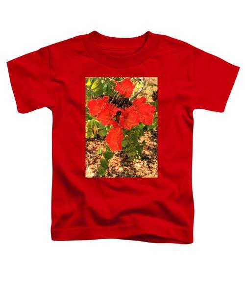 Tulip Tree Flowers Toddler T-Shirt