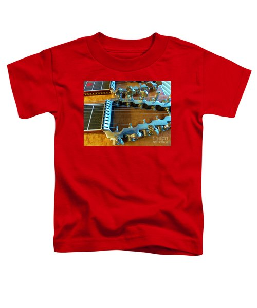 Tuning Pegs On Sho-bud Pedal Steel Guitar Toddler T-Shirt