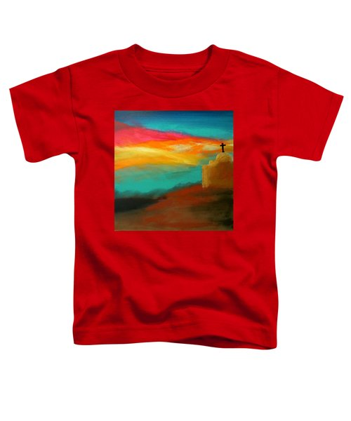 Turquoise Trail Sunset Toddler T-Shirt