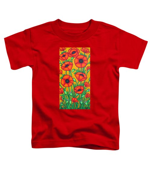 Tuscan Poppies Toddler T-Shirt