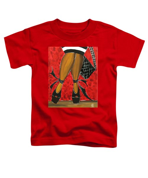 Two Stepping Toddler T-Shirt