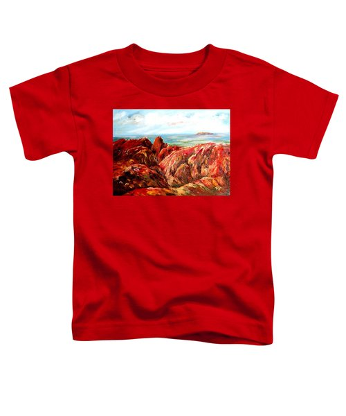 Uluru Viewed From Kata Tjuta Toddler T-Shirt