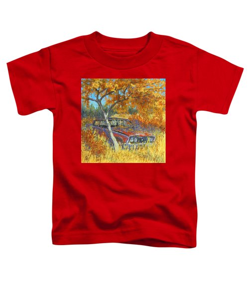 Under The Chinese Elm Tree Toddler T-Shirt
