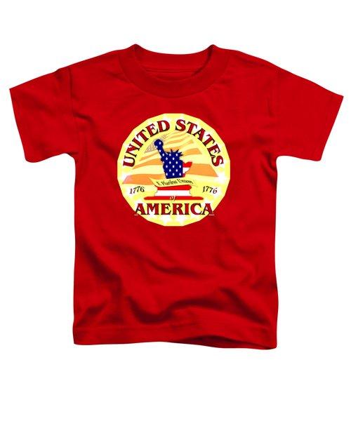 United States Of America Design Toddler T-Shirt