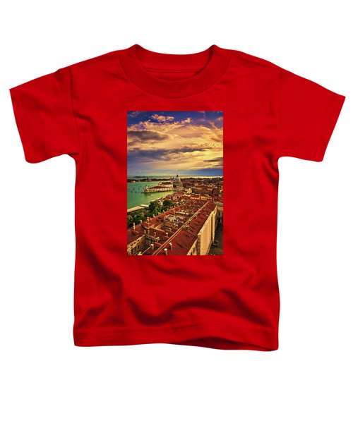 From The Bell Tower In Venice, Italy Toddler T-Shirt