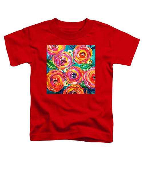 Vivid Flora Toddler T-Shirt