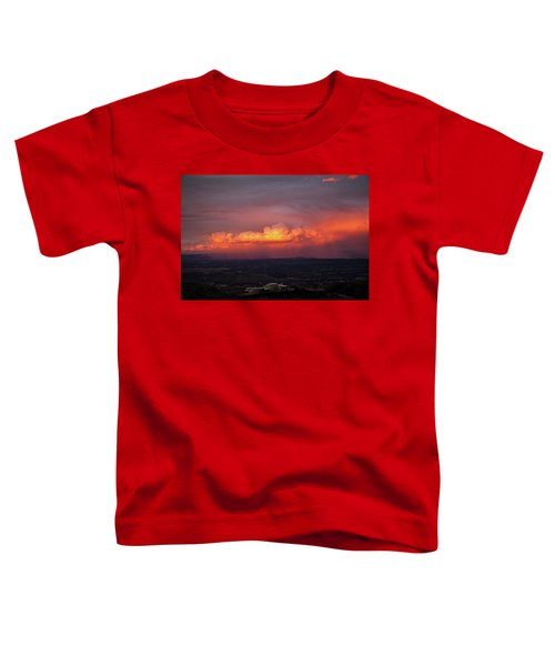 Vivid Verde Valley Sunset Toddler T-Shirt